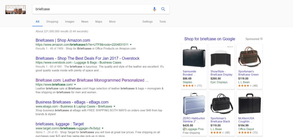 Google PLAs
