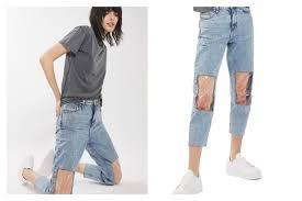 Window Knee Jeans