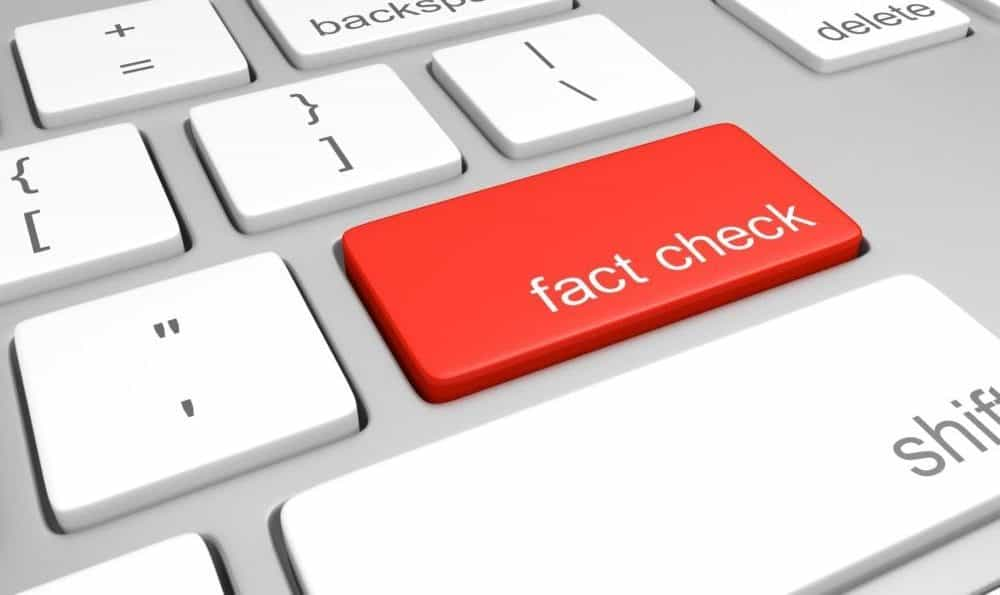 image stating fact checking is crucial to spotting fake reviews - gdpr