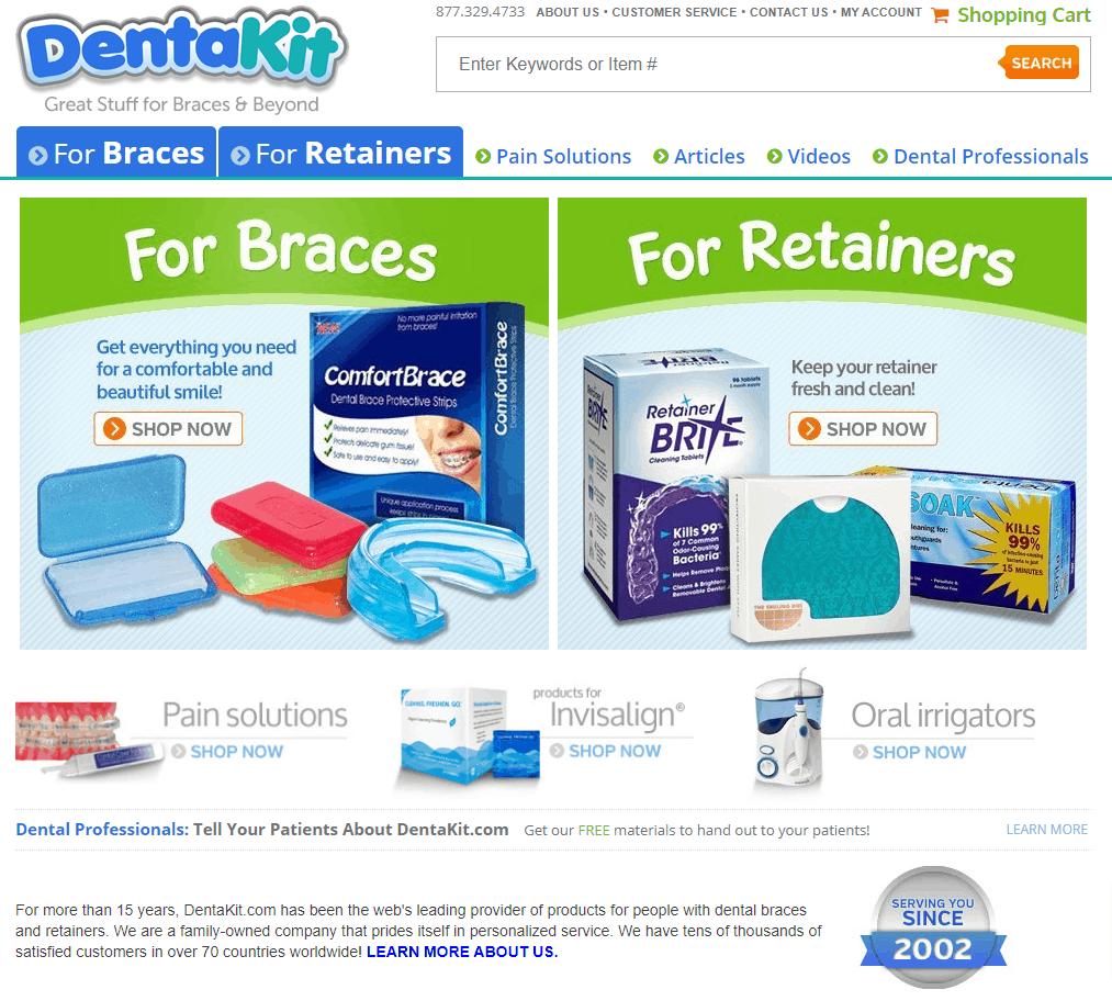 DentaKit Website